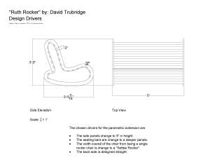 Parametric Seating Part 1-b