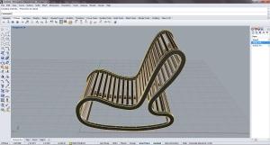 Parametric Seating- Ruth Rocker
