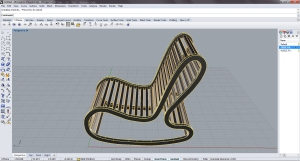 Parametric Seating- Ruth Rocker