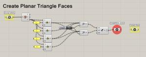 Create Planar Triangle Faces 2