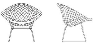 Diamond Chair Left