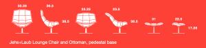 jehs+laub lounge chair diagrams