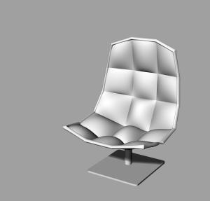 jehs+laub chair_model 01
