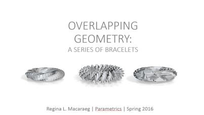 parametric bracelet project
